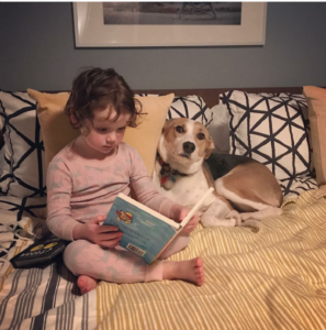 Georgia-reading-to-JuneBug
