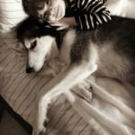 G'-&-Sophie-snuggling