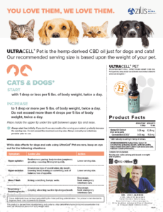 UltraCell-Pet-CBD-serving-facts