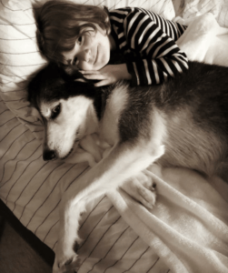 Girl-and-her-rescue-dog